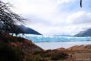 Trilha para o Glaciar Perito Moreno