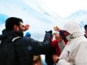 Um brinde ao Glaciar!!