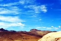 A vista do alto das minas de Potosí