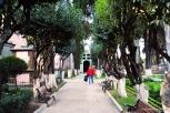 Jardins do cemitério