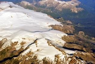 Los Andes! Vista da chegada em Punta Arenas