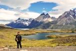 Torres del Paine e muito vento!