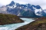 Rio formado dos glaciares