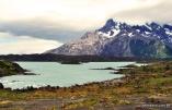 Rio formado a partir da água dos glaciares