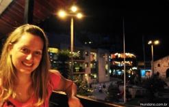 Noite em Águas Calientes