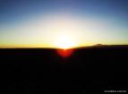 E o famoso por do sol do Atacama na Roca del Coyote