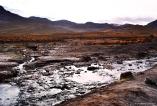 As águas quentes dos gêiseres