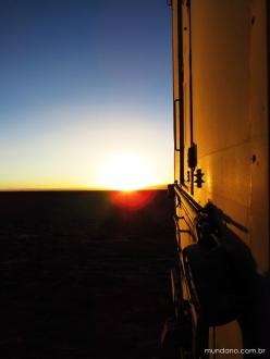 Por do sol em Tebinquinche