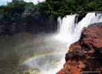 Cachoeira São Romão nos presenteando com um arco íris