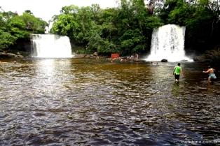 As cachoeiras gêmeas de Itapecuru