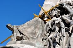 Esculturas da Champs Elysée