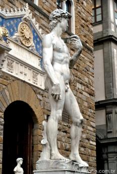 Réplica do David, de Michelangelo