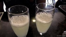 O famoso Pisco Sour, bebida típica
