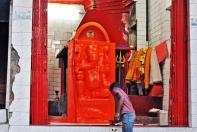 Templo de Ganesha bem pertinho de onde estávamos hospedados