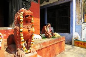 Brahmin no Nepali Temple