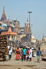 Manikarnika Ghat ou Burning Ghat