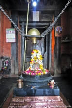 Linga de Shiva no Nepali Temple